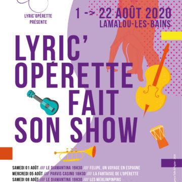 Lyric'Opérette fait son Show